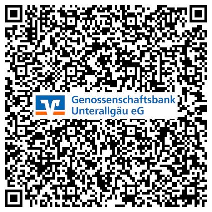 QR-Code Genossenschaftsbank Unterallgäu eG